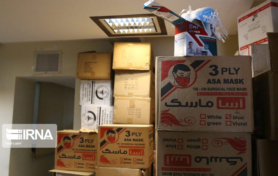 کشف ۶ هزار ماسک و ۴۸۰ لیتر الکل تقلبی درخوزستان