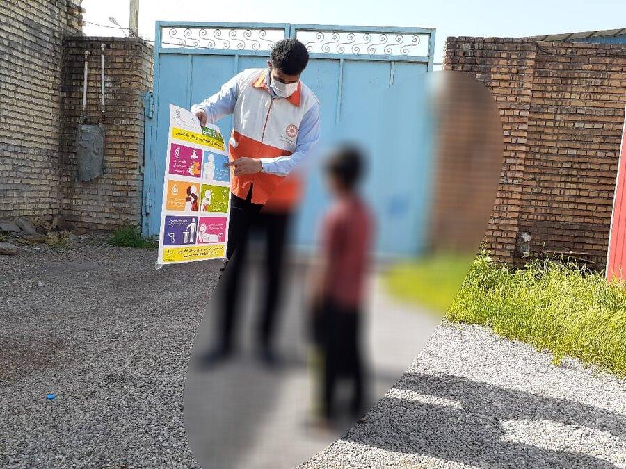 آموزش و هشدارهای بهداشتی و مراقبتی به کودکان کار شوش در ایام نوروز