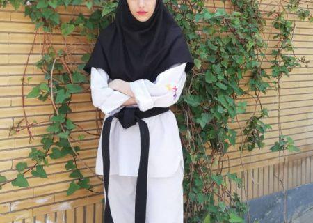 عنوان سومی بانوی تکواندوکار شوشی در مسابقات اجرای تکنیک خوزستان / بانوان شوشی قابلیت ها و توانمندیهای زیادی دارند