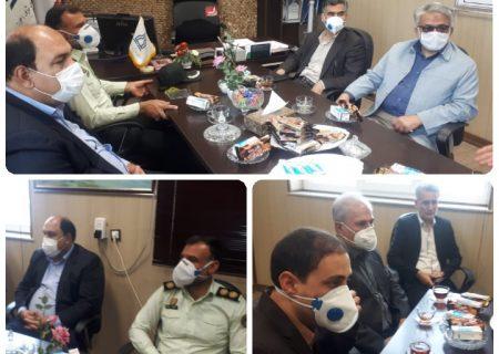 بازدید سرزده فرماندار امیدیه ازشبکه بهداشت درمان شهرستان امیدیه