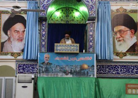 عکس/ اولین نمازجمعه حرم حضرت زینب(س)