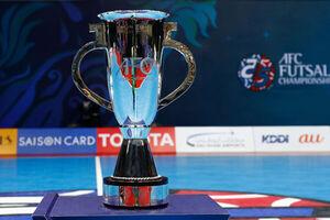 زمان جام باشگاههای فوتسال آسیا مشخص شد