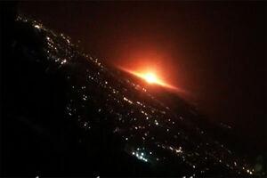 آسمان تهران با صدایی مهیب نارنجی شد