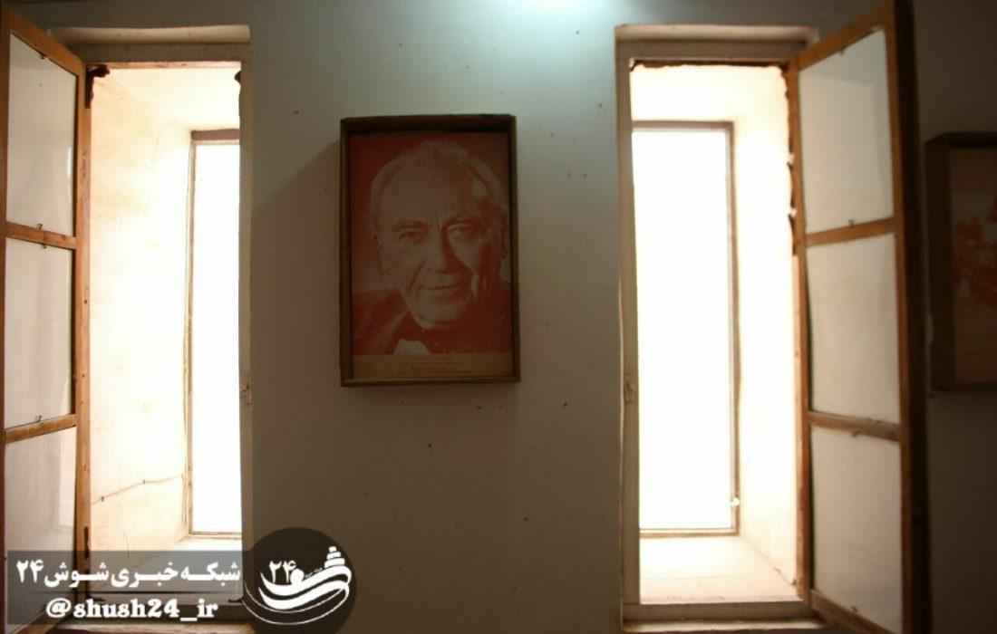 عکس/ اتاق های  نقاشی و گریشمن در قلعه شوش