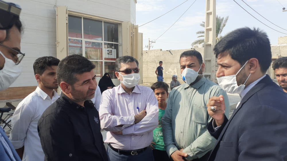 اولتیماتوم ۴۸ ساعته سرپرست فرمانداری شادگان به پیمانکار پروژه آسفالت جاده سعدی