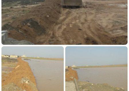 آماده باش کامل دستگاهای اجرایی برای بارندگیهای سیل درشهرستان امیدیه