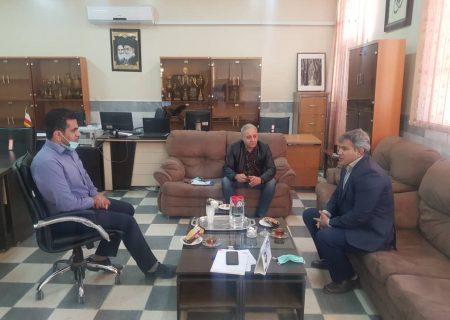 جلسه برگزاری مسابقات لیگ کشتی آزاد و فرنگی باشگاههای خوزستان برگزار گردید