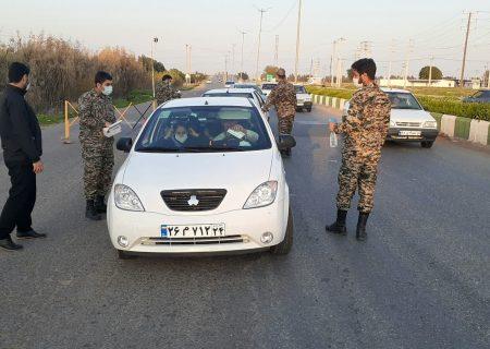توزیع ۱۰۰۰ ماسک  در ایستگاه سلامت حوزه مقاومت بسیج شهید بقایی شوش
