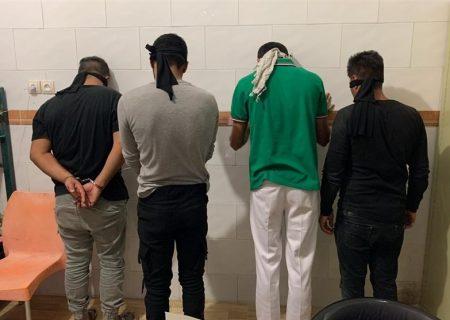 دستگیری سارقان کابل های مخابراتی در بهبهان
