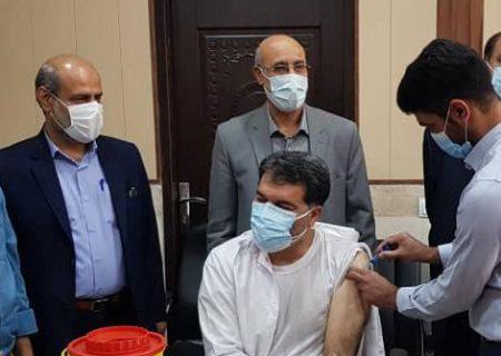 اعضای نظام پزشکی شوش در برابر کرونا واکسینه شدند