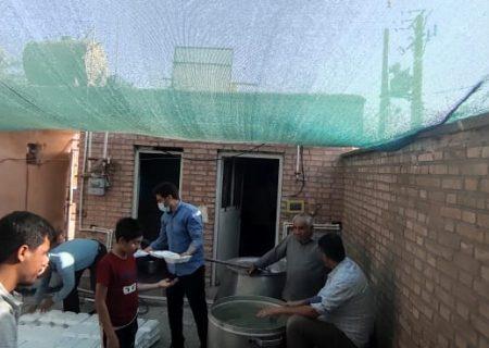 پخت ۵۱۰ پرس غذای گرم برای نیازمندان توسط گروه جهادی شهید خوردکه شهرک بهرام