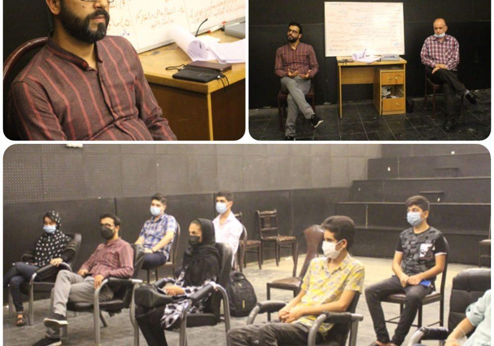 کارگاه آموزش بازیگری ویژه افراد زیر ۱۶ سال در شوش برگزار شد