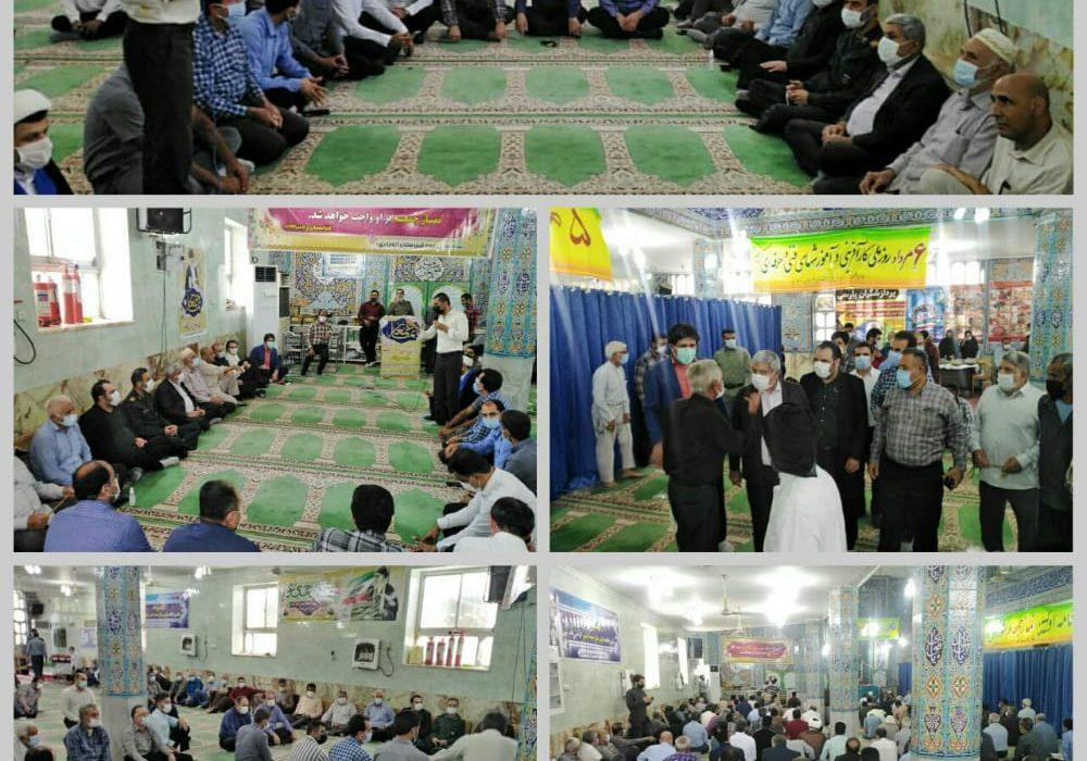 فرماندار آغاجاری: برپایی میز خدمت جهت پاسخگویی به مشکلات مردم آغاجاری در مسجد جامع برگزارشد