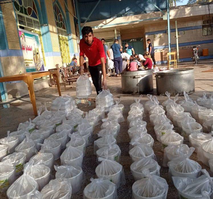 ۲ هزار و ۵۰۰ پرس غذای گرم به مناسبت عید غدیر خم در شوش توزیع شد