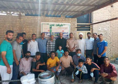 برگزاری جشن عید غدیر در حوزه شهید بقایی