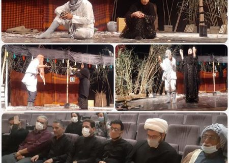 """نمایش بومی محلی """"چپایش"""" در تالار ارشاد شهر الوان به روی صحنه رفت"""
