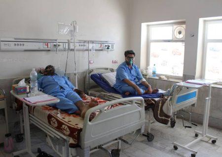 شمار بیماران کرونایی در بیمارستان نظام مافی ۱۵ درصد کاهش یافت